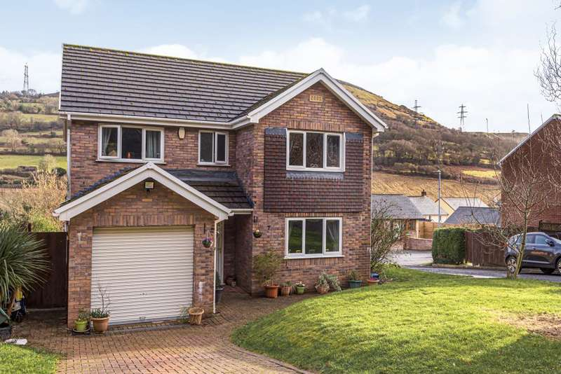 4 Bedrooms Detached House for sale in Maesygwartha, Abergavenny, Monmouthshire, NP7