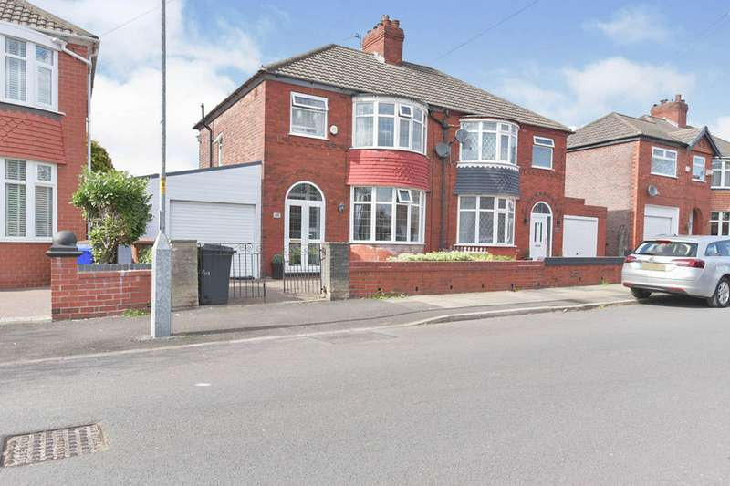 3 Bedrooms Semi Detached House for sale in Granada Road, Denton, Manchester, Greater Manchester, M34