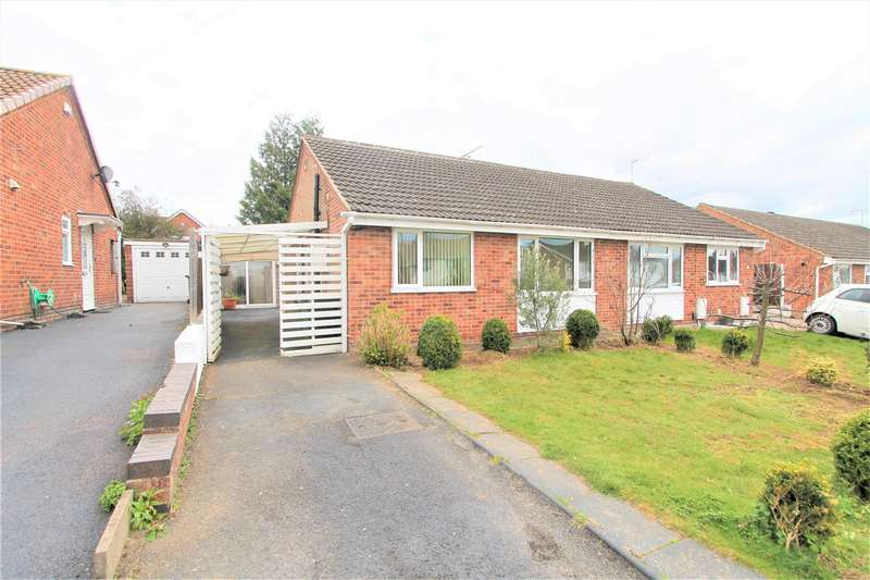 3 Bedrooms Semi Detached House for sale in Dove Rise, Oadby, Leicester LE2