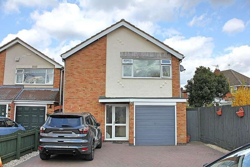 3 Bedrooms Detached House for sale in Penney Close, Wigston