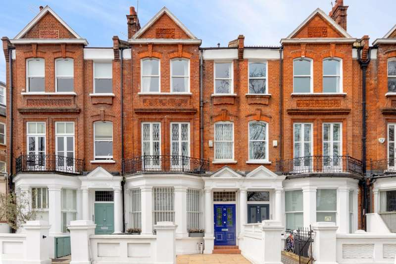 5 Bedrooms Terraced House for sale in Parsons Green, Fulham, London
