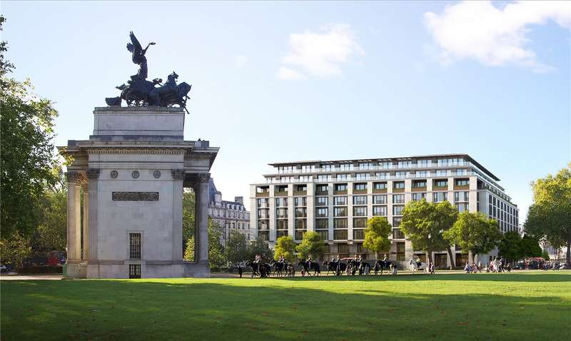 Flat for sale in The Peninsula Residences, 1 Grosvenor Place, London