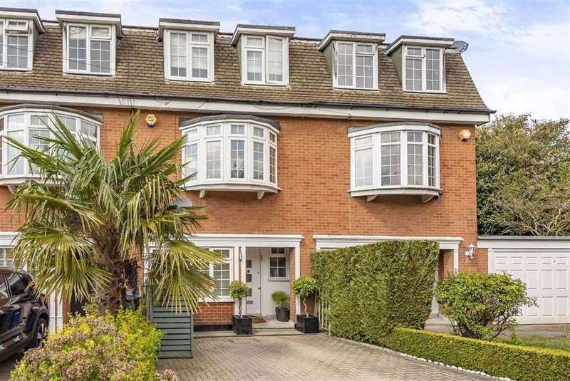 4 Bedrooms Terraced House for sale in Austell Gardens, Mill Hill, London