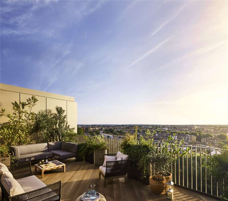 2 Bedrooms Flat for sale in Television Centre, Wood Lane, London