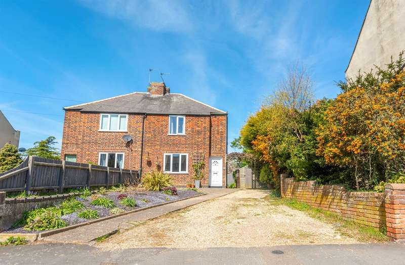 3 Bedrooms Semi Detached House for sale in Main Street, Willoughby On The Wolds, LE12 6SZ