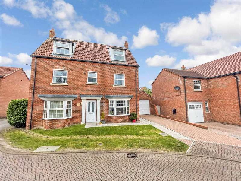 5 Bedrooms Detached House for sale in Ploughmans Court, Lincoln