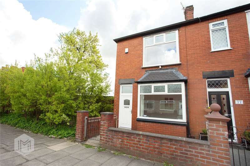 2 Bedrooms End Of Terrace House for sale in Sapling Road, Bolton, BL3