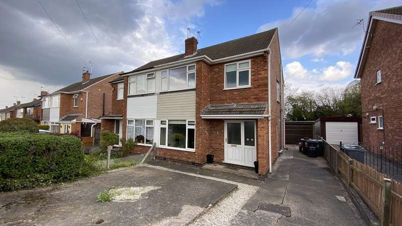 3 Bedrooms Semi Detached House for sale in The Meadows, Shepshed