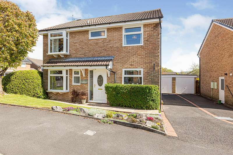4 Bedrooms Detached House for sale in Grisedale Drive, Burnley, Lancashire, BB12