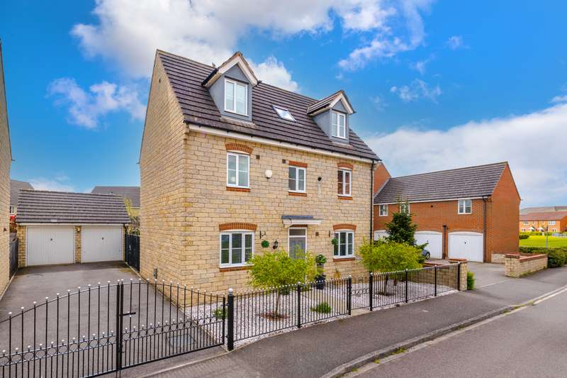 5 Bedrooms Detached House for sale in Cornflower Way, Bourne, PE10