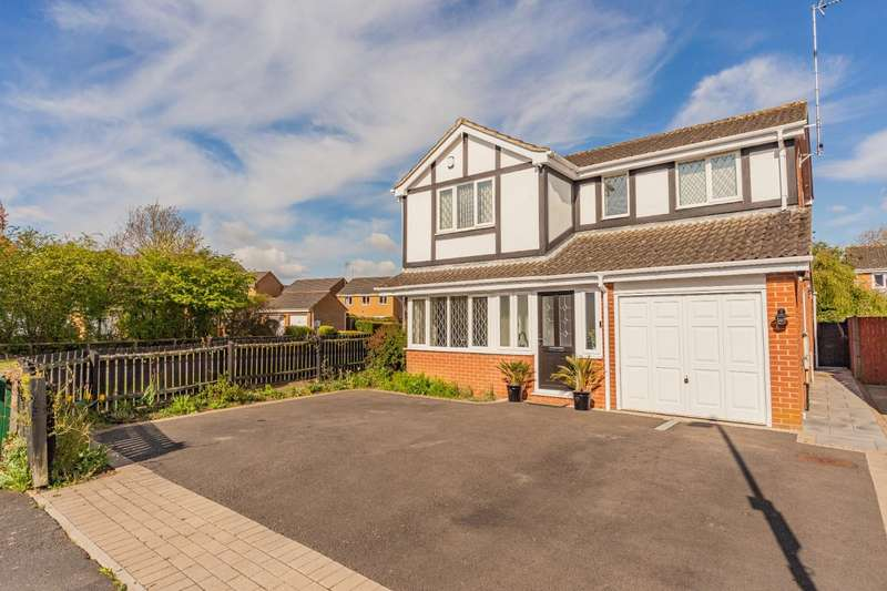 4 Bedrooms Detached House for sale in Cooper Gardens, Oadby, Leicester