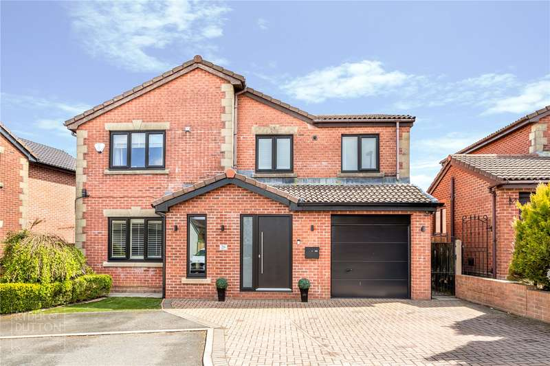 4 Bedrooms Detached House for sale in Locking Gate Rise, Waterhead, Oldham, Lancashire, OL4