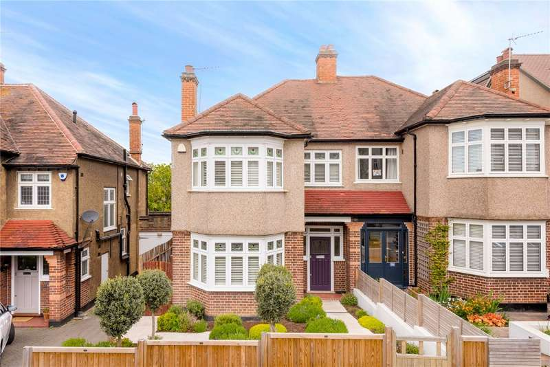 3 Bedrooms Semi Detached House for sale in Roxburgh Road, West Norwood, London, SE27