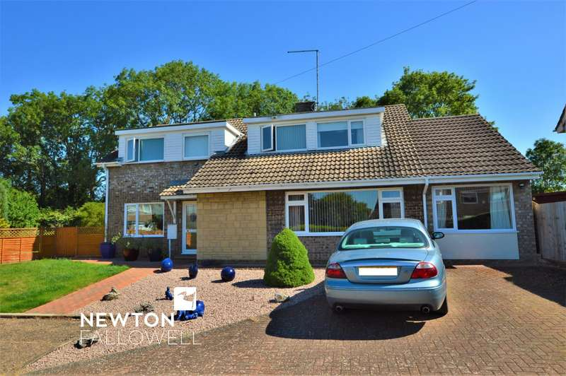 4 Bedrooms Detached House for sale in Manor Close, Ryhall, Stamford