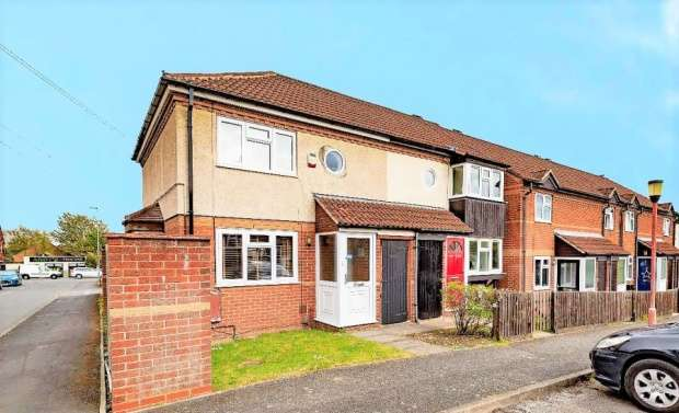 2 Bedrooms Terraced House for sale in Morley Close, Melton Mowbray, Leicestershire, LE13 0LG