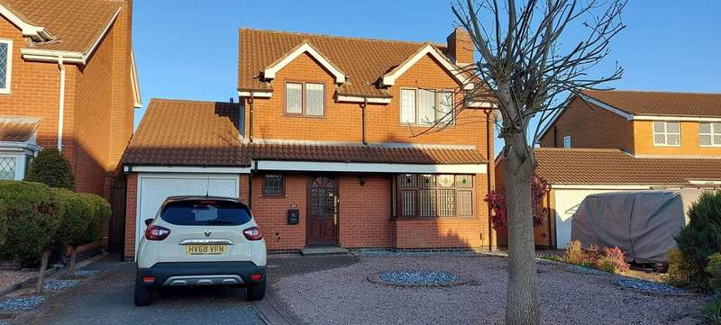 3 Bedrooms Semi Detached House for rent in Stamford Drive, Groby