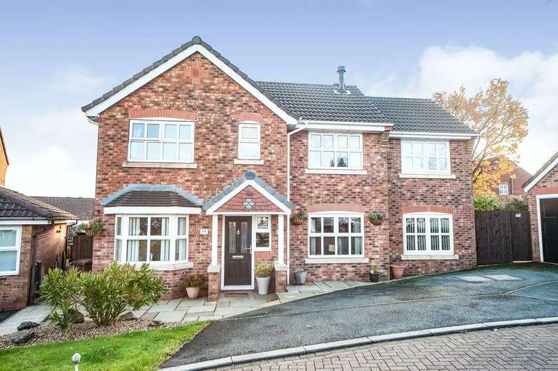 4 Bedrooms Detached House for sale in Cravens Hollow, Blackburn, Lancashire, BB2
