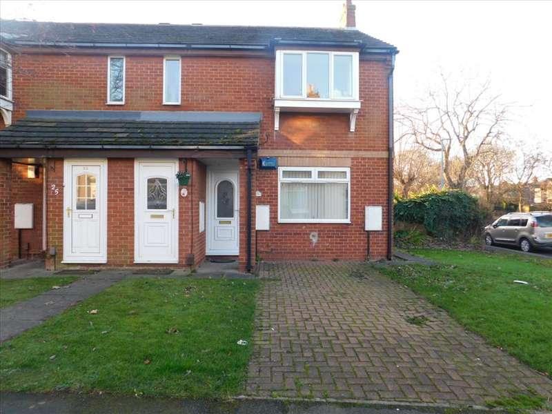 1 Bedroom Ground Flat for sale in MARSKE STREET, BURN VALLEY, Hartlepool, TS25 5QP