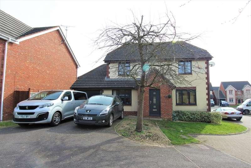 4 Bedrooms Detached House for sale in Goshawk Road, Gloucester, GL2