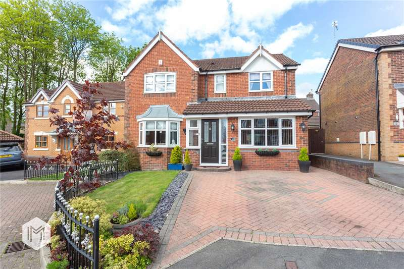 4 Bedrooms Detached House for sale in Booth Close, Tottington, Bury, BL8
