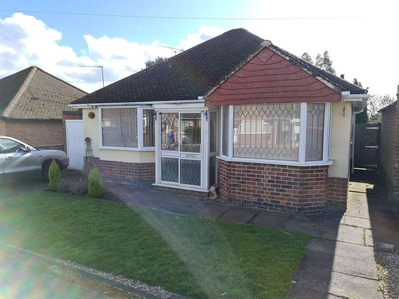 2 Bedrooms Bungalow for sale in Lawnwood Road, Leicester, Leicestershire, LE6