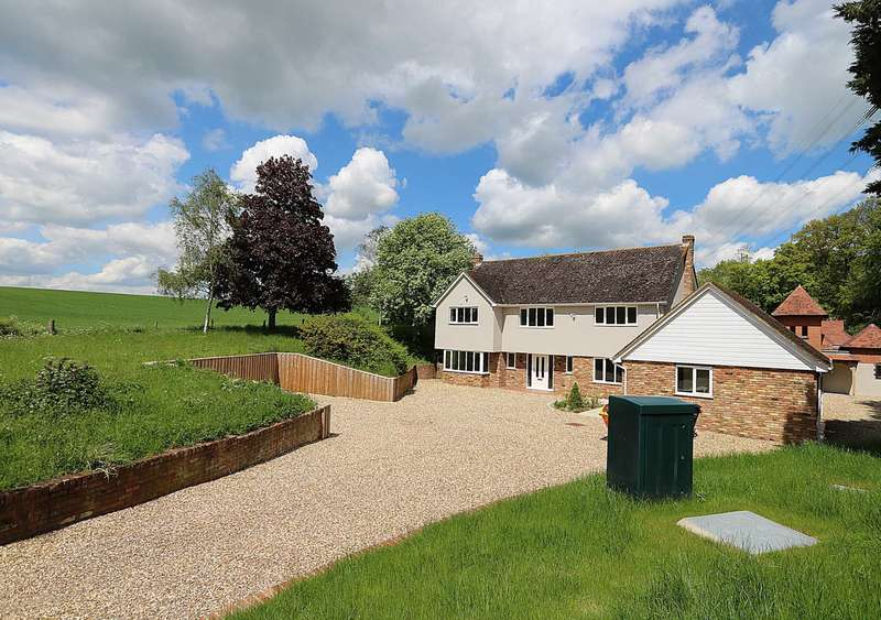 5 Bedrooms Detached House for sale in Hogmoor House, Maidenhatch, Pangbourne, Berkshire