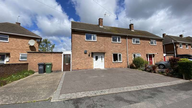 3 Bedrooms Semi Detached House for sale in Hermitage Road, Loughborough