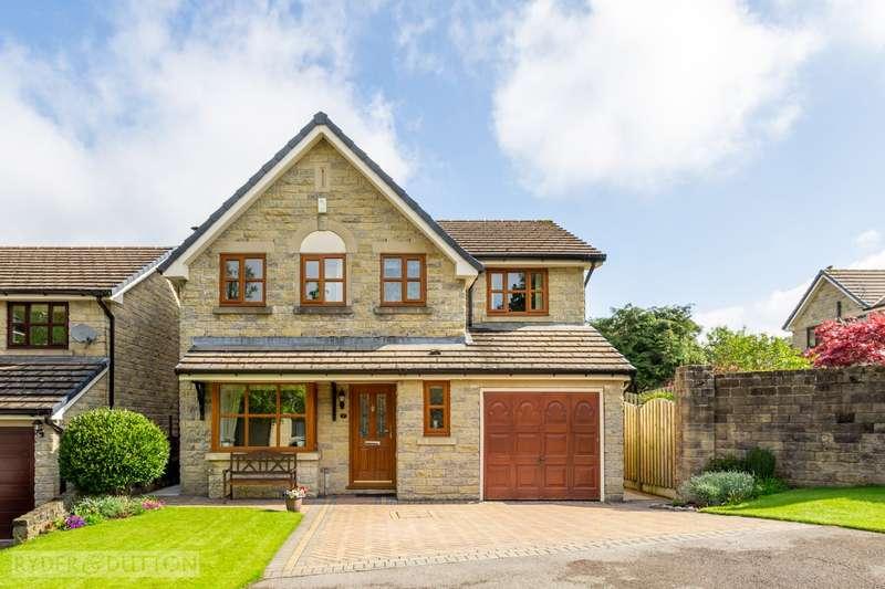 4 Bedrooms Detached House for sale in Stonelands Way, Grotton, Saddleworth, OL4