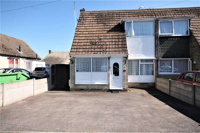 2 Bedrooms Semi Detached House for sale in Crossways, West Clacton