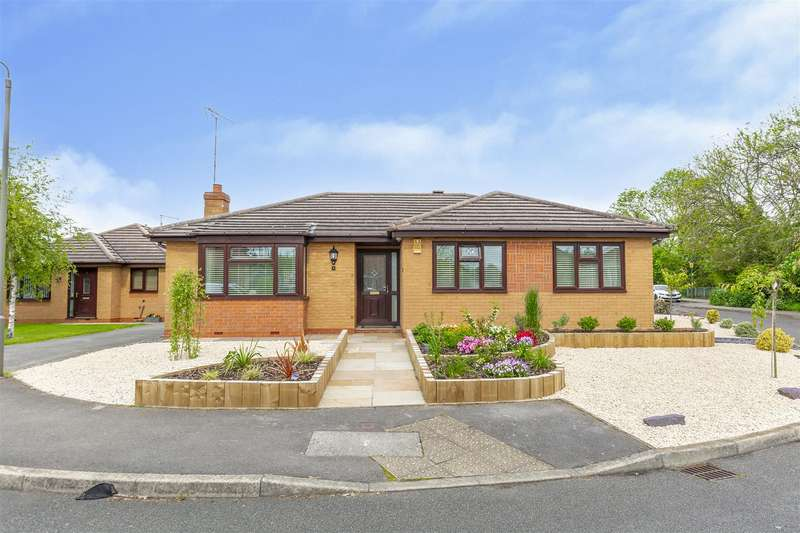 3 Bedrooms Detached Bungalow for sale in Sandwell Close, Long Eaton