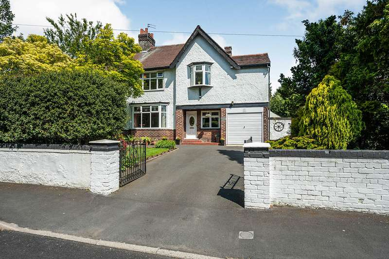 4 Bedrooms Semi Detached House for sale in St. Mary's Road, Huyton, Liverpool, Merseyside, L36