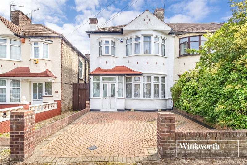 4 Bedrooms End Of Terrace House for sale in Woodberry Grove, North Finchley, London, N12