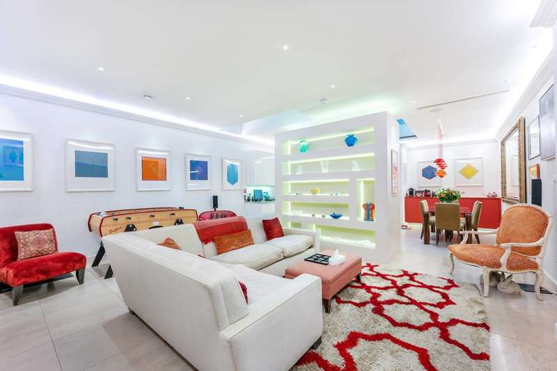 5 Bedrooms Terraced House for sale in Roland Way, South Kensington, SW7