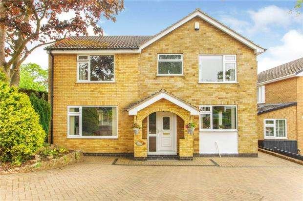 4 Bedrooms Detached House for sale in Cheriton Drive, Ravenshead, Nottingham