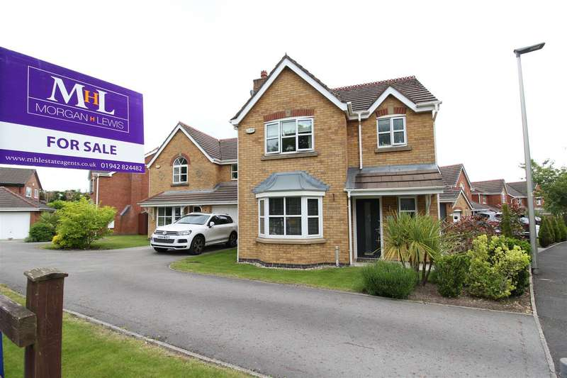 3 Bedrooms Detached House for sale in Pepperwood Drive, Winstanley, Wigan, WN3 6NB
