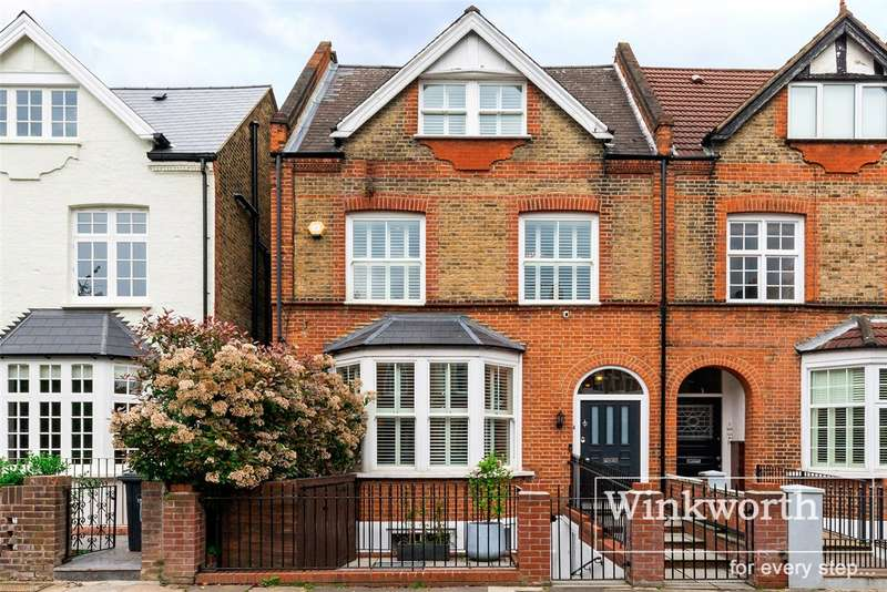 5 Bedrooms Town House for sale in Kenilworth Road, London, W5