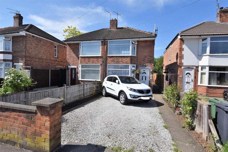 2 Bedrooms Semi Detached House for sale in Bottleacre Lane, Loughborough