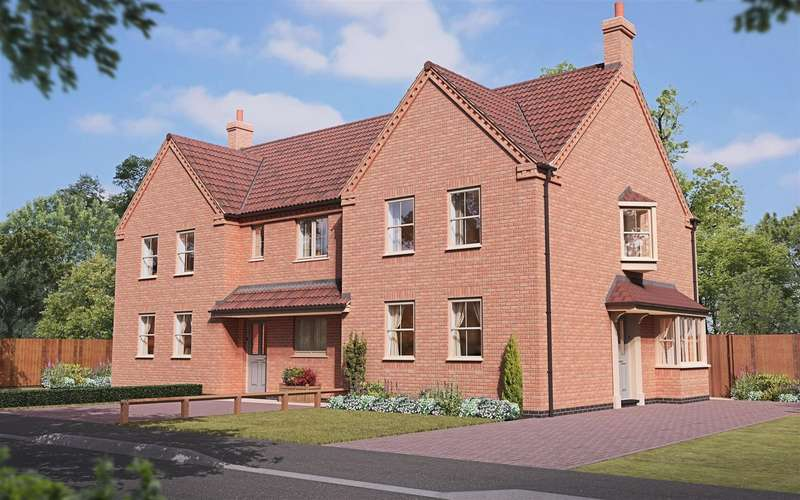 2 Bedrooms End Of Terrace House for sale in Dunston Road, Metheringham, Lincoln