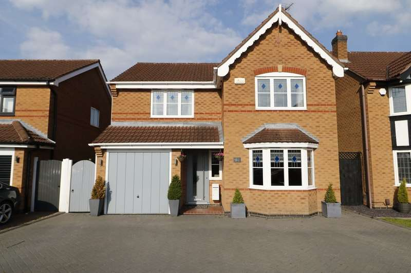 4 Bedrooms Detached House for sale in Naseby Drive, Ashby-de-la-Zouch
