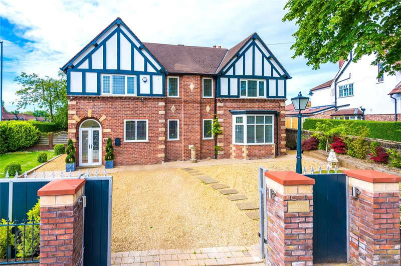 4 Bedrooms Detached House for sale in Woodlands Way, Middleton, Manchester, Greater Manchester, M24