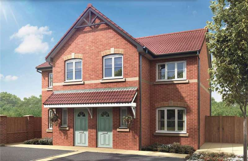 3 Bedrooms Semi Detached House for sale in Plot 21 - 38 Riverside Road, Rufford, Ormskirk