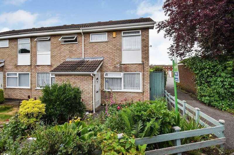 2 Bedrooms Terraced House for sale in Keepers Walk, Leicester, LE4
