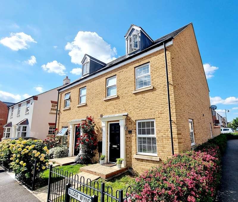 4 Bedrooms Semi Detached House for sale in Alder Wynd, Silsoe, Bedfordshire, MK45