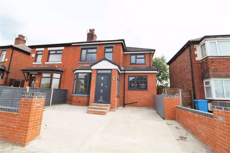 4 Bedrooms Semi Detached House for sale in Lloyd Road, Levenshulme, Manchester