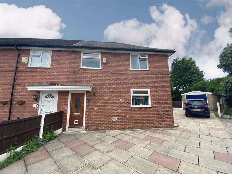 3 Bedrooms End Of Terrace House for sale in Kerne Grove, Manchester