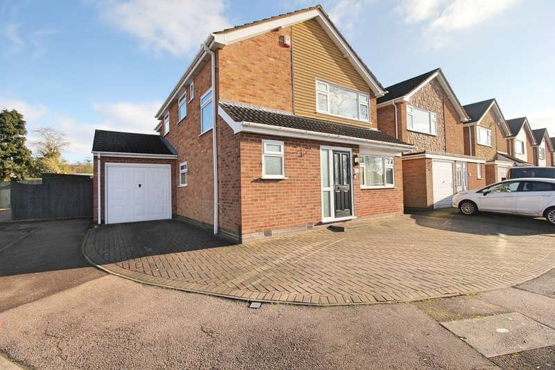 4 Bedrooms Detached House for sale in Penney Close, Wigston, Leicester