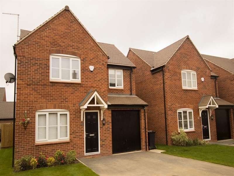 4 Bedrooms House for sale in The Warwick, Kings Gate, Hathern Road, Shepshed, Loughborough, LE12 9RP