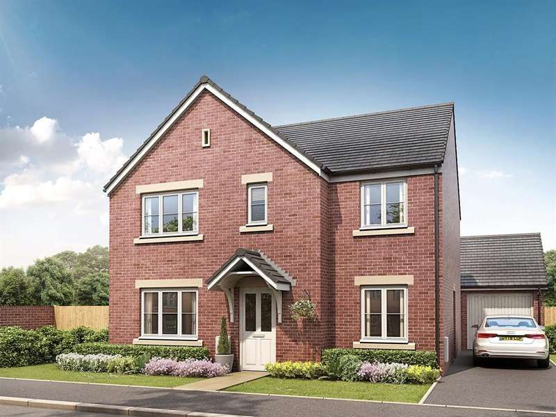 5 Bedrooms House for sale in The Corfe, Kings Gate, Hathern Road, Shepshed, Loughborough, LE12 9RP