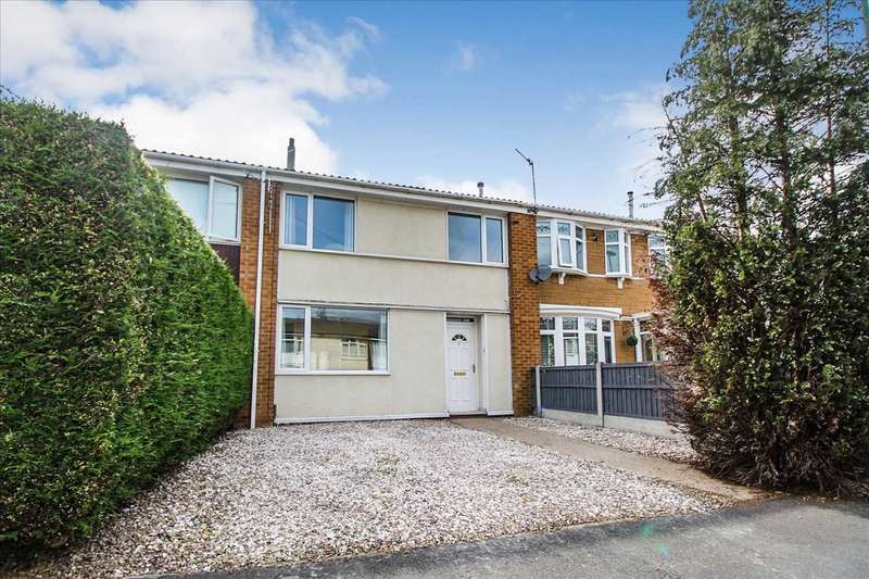 3 Bedrooms Terraced House for rent in Lerwick Close, Clifton, Nottingham