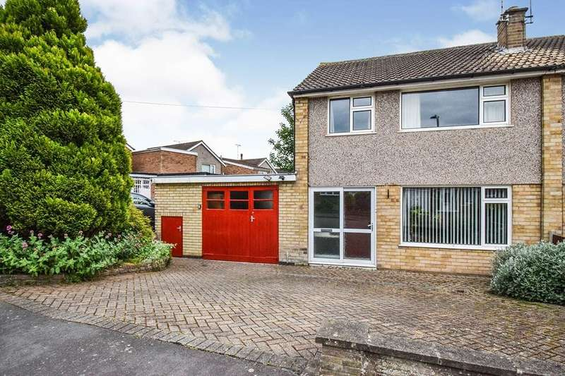3 Bedrooms Semi Detached House for sale in Pits Avenue, Braunstone, Leicester, LE3